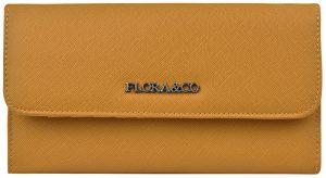 FLORA & CO Dámská peněženka K1218 Moutarde