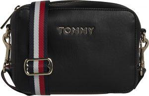 Tommy Hilfiger Dámská crossbody kabelka Iconic Tommy Crossover Solid Black