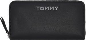 Tommy Hilfiger Dámská peněženka Item Statement Lrg Za Black Mix