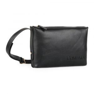 Calvin Klein Dámská crossbody kabelka Attached K60K605652 – černá
