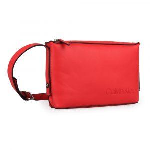 Calvin Klein Dámská crossbody kabelka Attached K60K605652 – červená