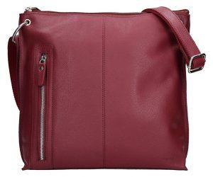 Lagen Dámská kožená kabelka BLC-3287-16 Burgundy