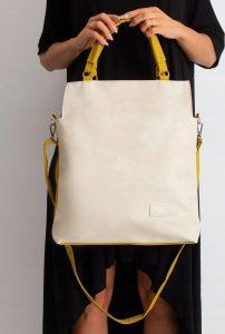 BASIC Béžovožlutá kabelka 0018 Velikost: univerzální