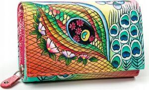 Dámská peněženka z kůže Maledives (M-N19-ART-04_4307 PINK) Velikost: univerzální