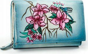 Dámská peněženka z kůže Maledives (M-N19-ART-01_4277 GRAY) Velikost: univerzální