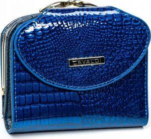 4U CAVALDI Dámská lakovaná peněženka (55180-RS D.BLUE) Velikost: univerzální