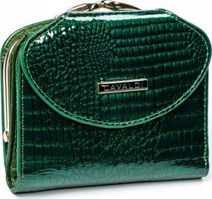 4U CAVALDI Dámská lakovaná peněženka (55180-RS GREEN) Velikost: univerzální