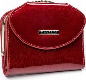 4U CAVALDI Dámská lakovaná peněženka (55180-SH RED) Velikost: univerzální