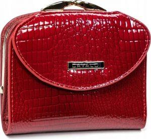 4U CAVALDI Dámská lakovaná peněženka (55180-RS RED) Velikost: univerzální