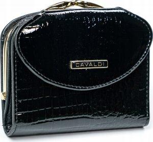 4U CAVALDI Dámská lakovaná peněženka (55180-RS BLACK) Velikost: univerzální