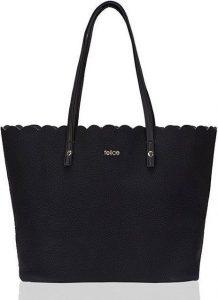 Dámská shopper kabelka Felice Verona (FB43 BLACK) Velikost: univerzální