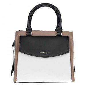 Dámská kabelka Fiorelli Kate – černo-hnědo-bílá