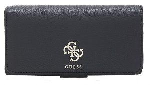 Guess Dámská peněženka Digital Slg File Clutch Black-Bla