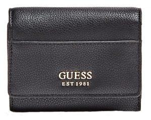 Guess Dámská peněženka Lila Slg Small Trifold Black-Bla