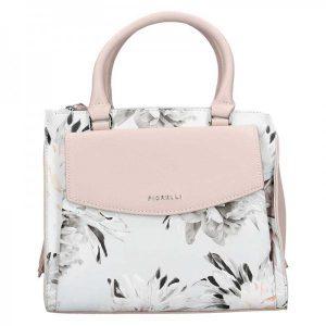 Dámská kabelka Fiorelli Kate – růžovo-bílá