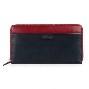 Maître Dámská kožená peněženka Sohren Dietrun 4060001388 – tmavě červená