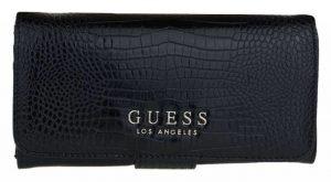 Guess Dámská peněženka Cleo Slg File Clutch Black-Bla