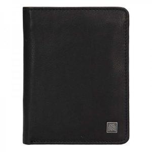 Kožená pánská peněženka Lerros Libir – černá