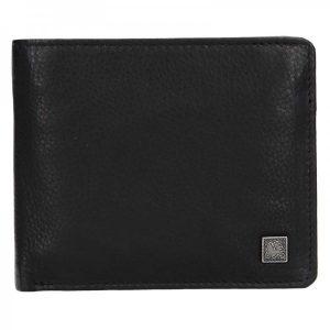Kožená pánská peněženka Lerros Gustav – černá