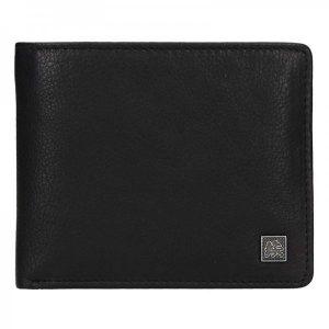 Kožená pánská peněženka Lerros Amos – černá