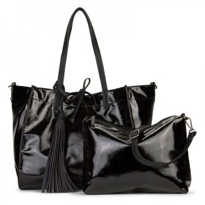 Dámská kabelka Emily & Noah Sharlota – černá