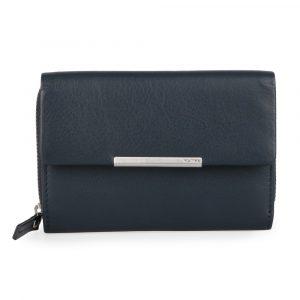 Maître Dámská kožená peněženka Belg Dagrete 4060001415 – tmavě modrá
