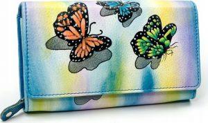 MALEDIVES dámská peněženka M-N22-ART-02_4383 BLUE Velikost: univerzální