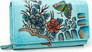 MALEDIVES dámská peněženka M-N22-ART-03_4390 BLUE Velikost: univerzální