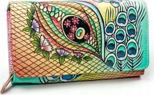 MALEDIVES dámská peněženka M-N22-ART-05_4413 PINK Velikost: univerzální