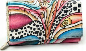 MALEDIVES dámská peněženka M-N22-ART-07_4437 BLACK Velikost: univerzální