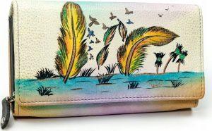 MALEDIVES dámská peněženka M-N22-ART-10_4468 BEIGE Velikost: univerzální
