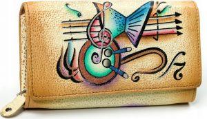 MALEDIVES dámská peněženka M-N22-ART-08_4444 YELLOW Velikost: univerzální