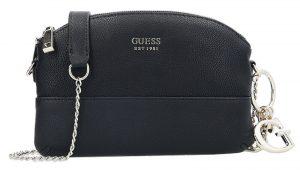 Guess Dámská kabelka Lila Mini Double Zip Crossbody Black-Bla