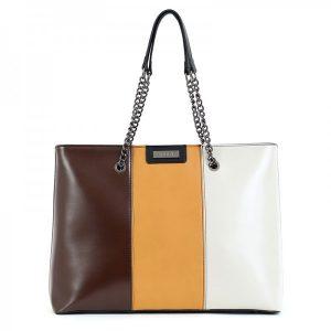 Dámská kabelka Doca 15600 – multicolor