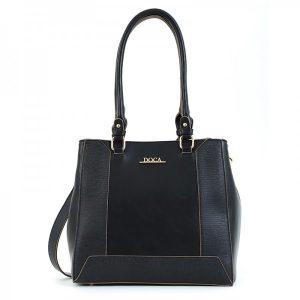 Dámská kabelka Doca 156957 – černá