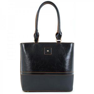 Dámská kabelka Doca 15667 – černá