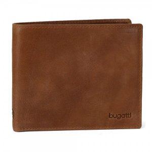 Pánská kožená peněženka Bugatti Gregory – hnědá