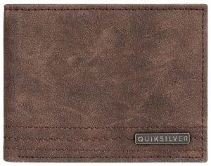 Quiksilver Pánská peněženka Stitchy Wallet VI Chocolate Brown EQYAA03823-CSD0