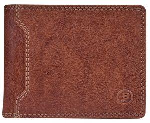JustBag Pánská kožená peněženka 5205 Cognac