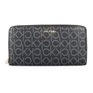Calvin Klein Dámská peněženka CK Must Large K60K605894 – šedá