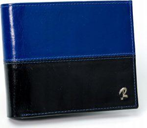 ROVICKY pánská modrá peněženka RFID N992-VT2 BLACK-BLUE Velikost: univerzální