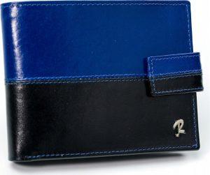 ROVICKY pánská modrá peněženka RFID N01L-VT2 BLACK-BLUE Velikost: univerzální