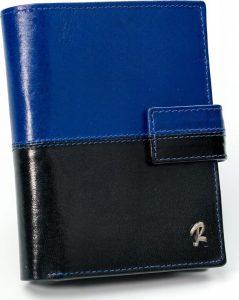 ROVICKY pánská modrá peněženka RFID E D1072L-VT2 BLACK-BLU Velikost: univerzální