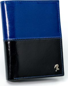 ROVICKY pánská modrá peněženka RFID D104-VT2 BLACK-BLUE Velikost: univerzální