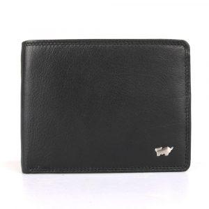 Braun Büffel Pánská kožená peněženka Golf 2.0 90374-051 – černá