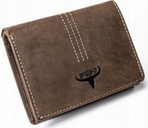 Buffalo Wild hnědá kožená peněženka N4-H-3 BROWN Velikost: univerzální