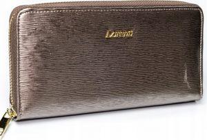 Lorenti šedá kožená peněženka RFID (77006-SH GRAY) Velikost: univerzální