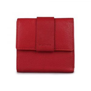 Maître Dámská kožená peněženka Dalene Wallet 4060001413 – červená