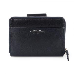 Maître Dámská kožená peněženka Schwollen Diethilde 4060001385 – tmavě modrá