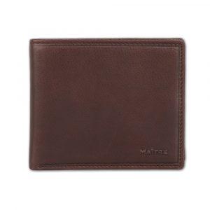Maître Pánská kožená peněženka Gathman BillFold H8 4060001435 – tmavě hnědá